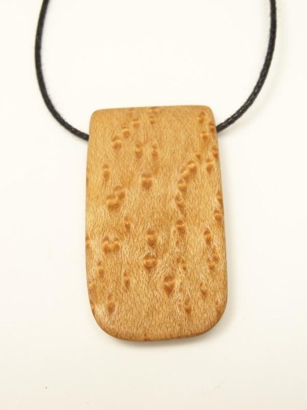 Amulett natural Vogelaugenahorn