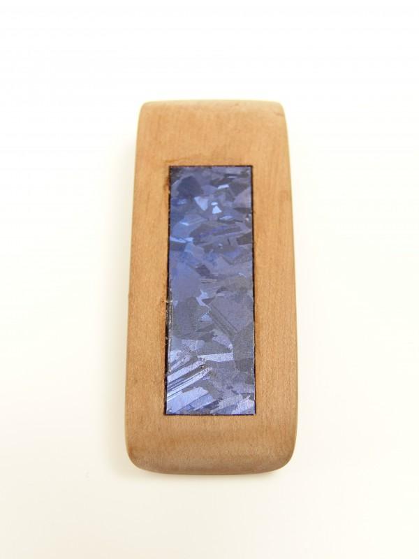 Amulett Pflaumeholz mir Solarzelleneinlage