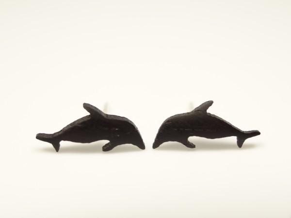 Ohrstecker Motiv Delfin