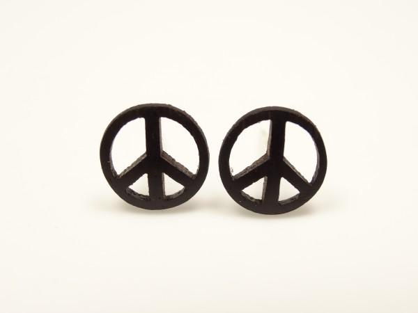 Ohrstecker Motiv Peace klein