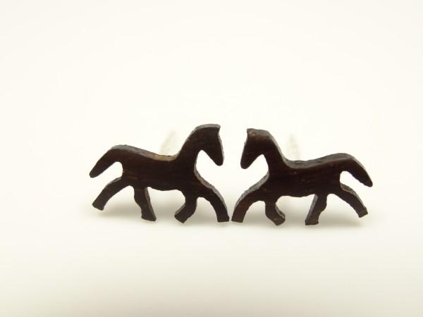 Ohrstecker Motiv Pferd