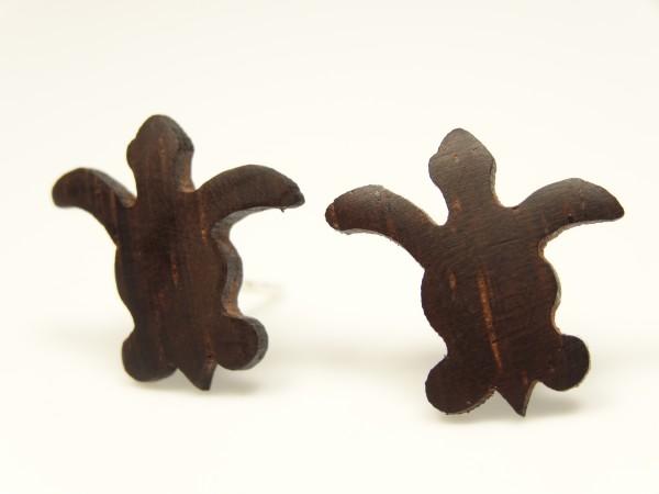 Ohrstecker Motiv Wasserschildkröte