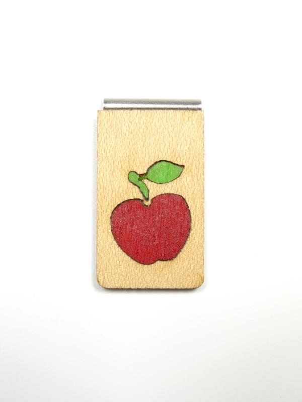 Lesezeichen Apfel