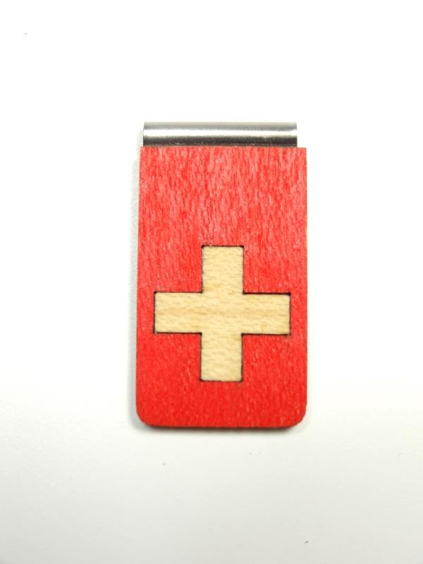 Lesezeichen Schweizer Kreuz