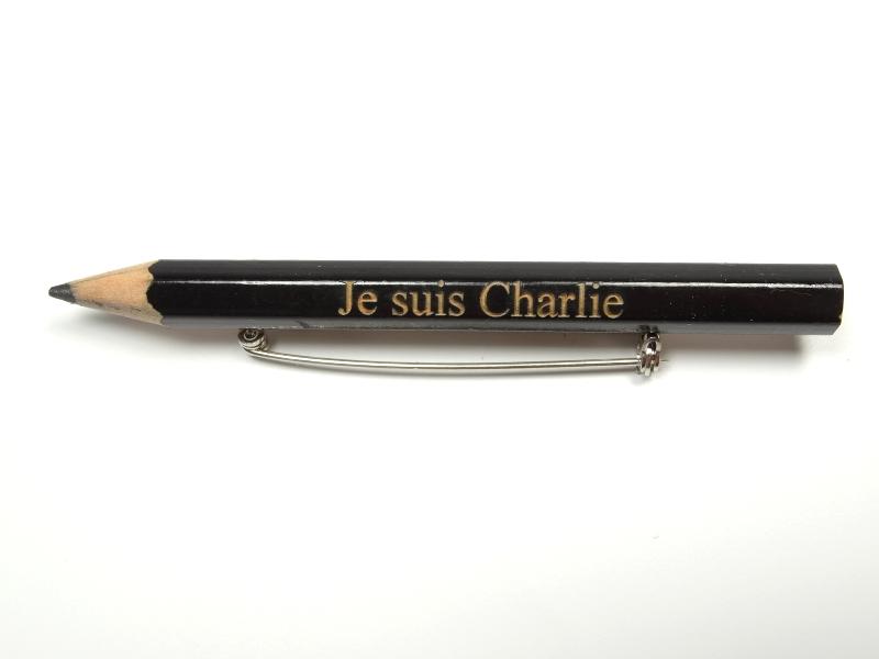 Bleistift Je suis Charlie