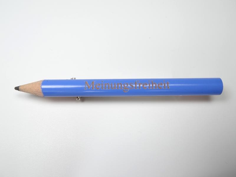 Bleistift Meinungsfreiheit