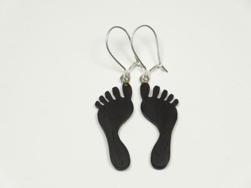 Motiv Ohrhänger Füße