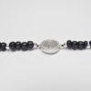 Perlarband mit Silberelementen