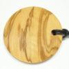 Olivenholz Amulett an Lederband