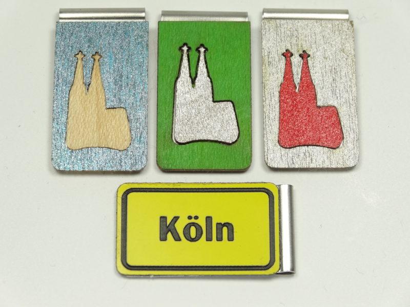 Lezeichen Kölner Dom Intarsie