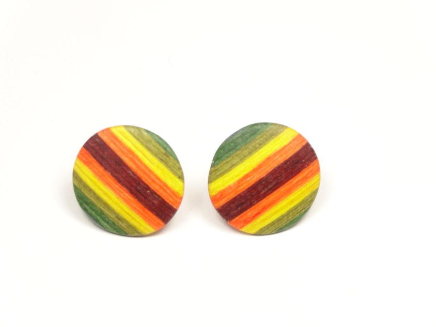 Ohrstecker color ca 1,5 cm Durchmesser