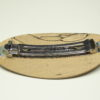 Haarspange verstockte Buche groß Spangenteil 9,5 cm