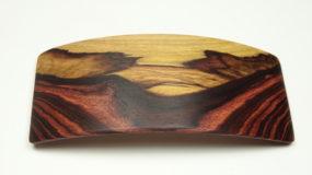 Haarspange groß Veilchenholz