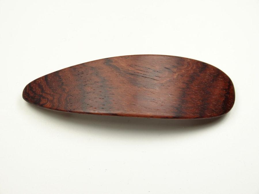 Haarspange natur klein Veilchenholz
