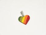 Herz coloriertes Holz
