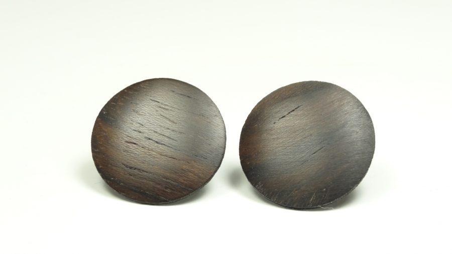Ohrstecker Palisander 2 cm