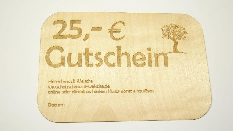 Gutschein 25,-€