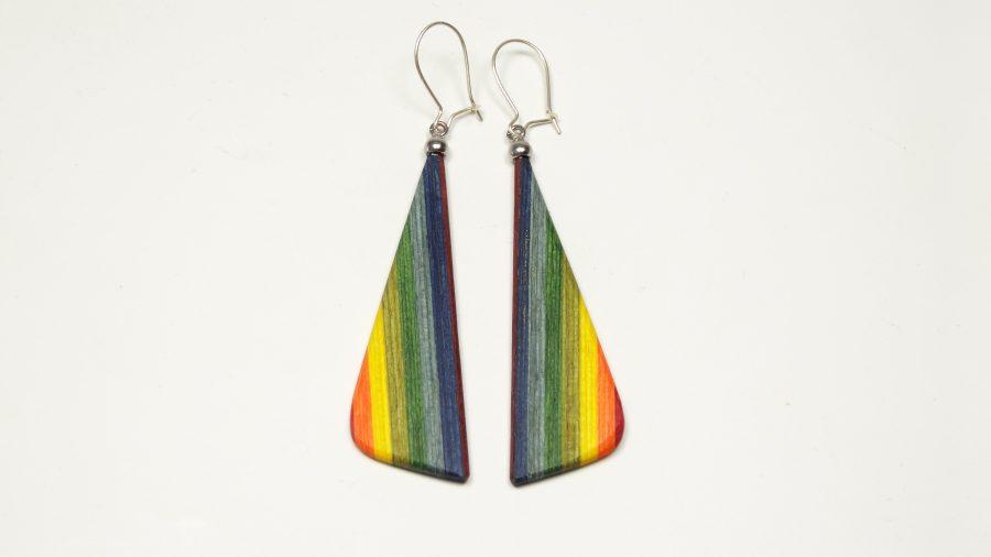 Ohrhänger color Regenbogen