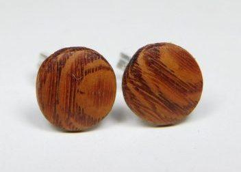 Holzohrstecker Perlholz