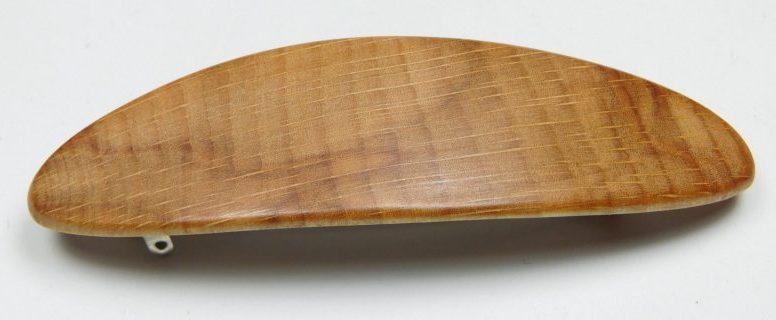 Holzhaarspange klein Buche