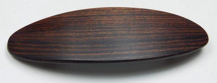 Holzhaarspange klein Veilchenholz