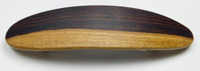 Holzhaarspange klein Veilchenholz Splint