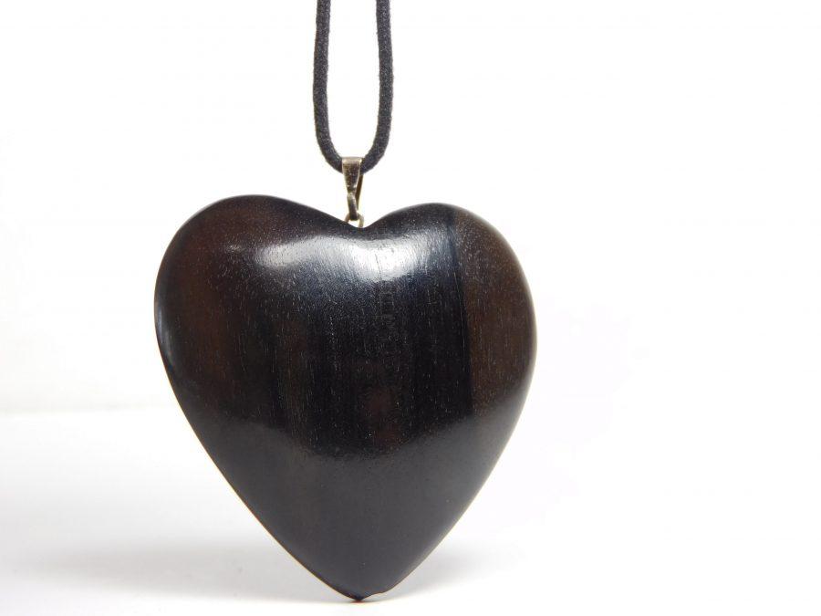 Ebenholz Herz